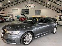 2012 AUDI A6 2.0 TDI S LINE 4d 175 BHP £9995.00