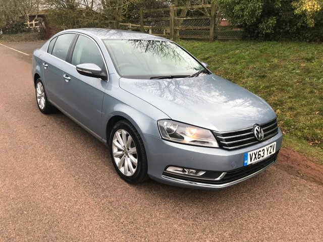 USED 2013 63 VOLKSWAGEN PASSAT 2.0 HIGHLINE TDI BLUEMOTION TECHNOLOGY 4d 139 BHP **MOT**FULL SERVICE HISTORY**LOW MILEAGE**LOVELY DRIVE**