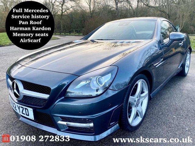 2012 12 MERCEDES-BENZ SLK 3.5 SLK350 BLUEEFFICIENCY AMG SPORT 2d 306 BHP
