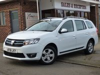 USED 2016 16 DACIA LOGAN MCV 1.5 LAUREATE DCI 5d 90 BHP ONE OWNER FULL SERVICE HISTORY & FREE ROAD TAX