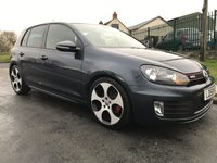 2010 VOLKSWAGEN GOLF 2.0 GTI low miles 54000 heated leather full history  £9495.00