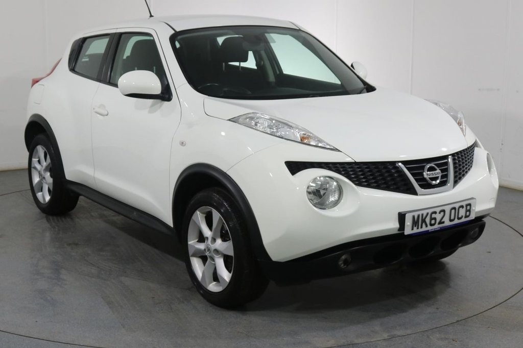 USED 2012 62 NISSAN JUKE 1.6 ACENTA 5d 117 BHP 2 OWNERS with 7 Stamp SERVICE HISTORY