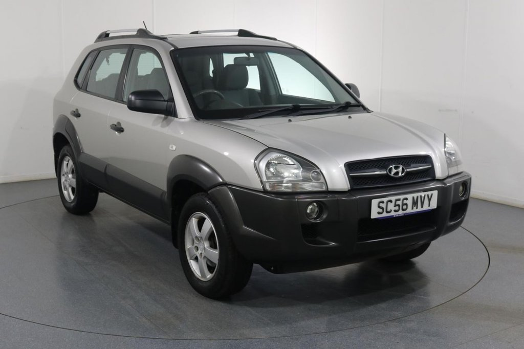 USED 2007 56 HYUNDAI TUCSON 2.0 GSI 2WD 5d 140 BHP 3 OWNERS with 11 Stamp SERVICE HISTORY