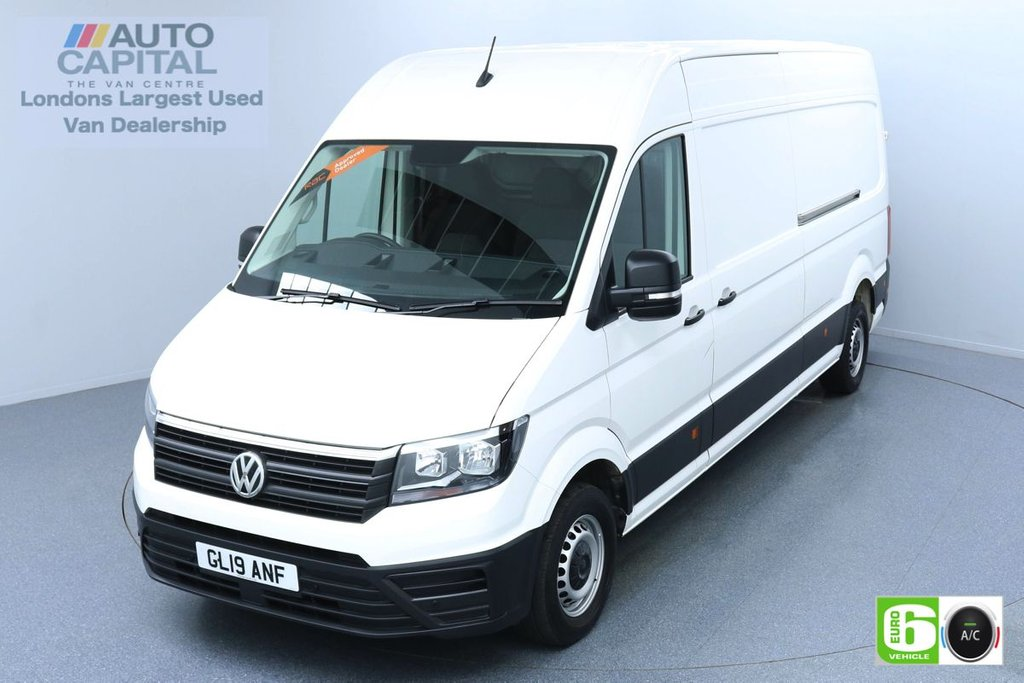 USED 2019 19 VOLKSWAGEN CRAFTER 2.0 CR35 RWD TDI STARTLINE 138 BHP LWB EURO 6 ENGINE AIR CON   BUSINESS PACK   FRONT-REAR PARKING SENSORS