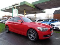 USED 2013 13 BMW 1 SERIES 1.6 114I SPORT 3d 101 BHP