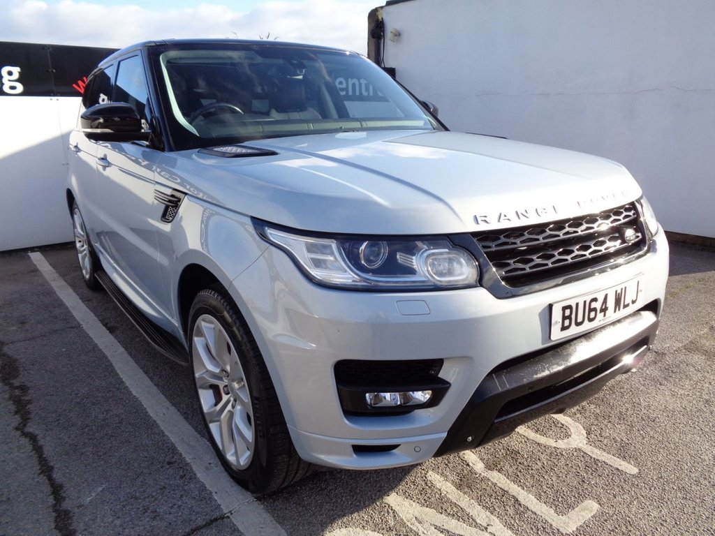 USED 2014 64 LAND ROVER RANGE ROVER SPORT 3.0 SDV6 AUTOBIOGRAPHY DYNAMIC 5d 288 BHP 21 Inc Alloys Leather Trim Navigation System Panoramic Roof Parking sensors Privacy Glass