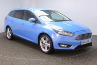 USED 2016 66 FORD FOCUS 1.5 TITANIUM TDCI 5DR SAT NAV 1 OWNER 118 BHP FULL SERVICE HISTORY + FREE 12 MONTHS ROAD TAX + SATELLITE NAVIGATION + REVERSE CAMERA + PARKING SENSOR + BLUETOOTH + CRUISE CONTROL + CLIMATE CONTROL + MULTI FUNCTION WHEEL + PRIVACY GLASS + DAB RADIO + ELECTRIC WINDOWS + ELECTRIC MIRRORS + 17 INCH ALLOY WHEELS
