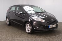 USED 2016 66 FORD FIESTA 1.2 ZETEC 5DR 81 BHP + 1 OWNER SERVICE HISTORY + BLUETOOTH + MULTI FUNCTION WHEEL + AIR CONDITIONING + DAB RADIO + ELECTRIC WINDOWS + ELECTRIC MIRRORS + 15 INCH ALLOY WHEELS