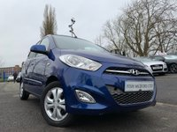 USED 2011 61 HYUNDAI I10 1.2 ACTIVE 5d 85 BHP ALLOYS+MEDIA+ELECS+CLEARANCE+AIRCON+USB+CLEARANCE+LOW MILEAGE+