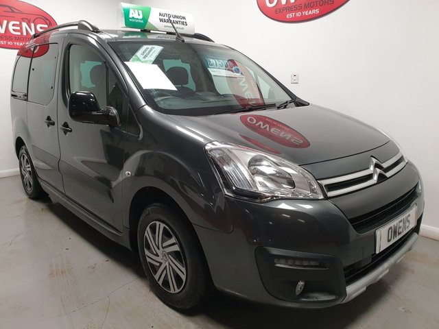 2016 16 CITROEN BERLINGO MULTISPACE 1.6 BLUEHDI XTR ETG6 5d 98 BHP