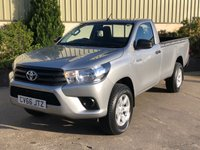 USED 2016 66 TOYOTA HI-LUX 2.4 ACTIVE 4WD D-4D S/C 148 BHP LINER, ALLOYS, TOWBAR
