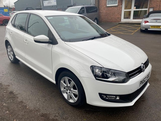 USED 2012 62 VOLKSWAGEN POLO 1.2 MATCH TDI 5d 74 BHP IDEAL FIRST CAR,. £20 RAOD TAX, EXCELLENT MPG, ALLOY WHEELS, RADIO/CD, AIR CONDITIONING