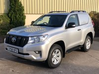USED 2019 68 TOYOTA LAND CRUISER 2.8 UTILITY COMMERCIAL 175 BHP ALLOYS, SIDE STEPS