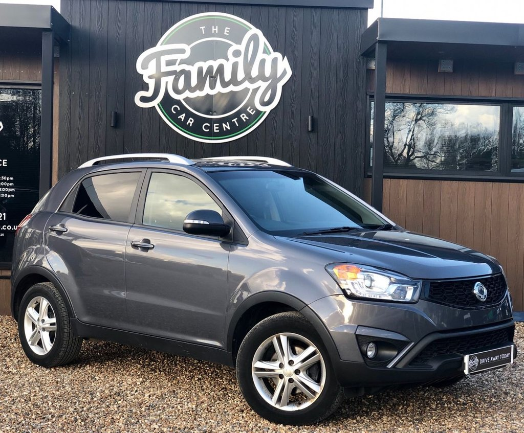 USED 2015 15 SSANGYONG KORANDO 2.0 ELX4 5d 175 BHP *** 1 OWNER AND FULL SERVICE HISTORY  ***