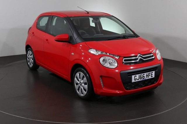 2016 66 CITROEN C1 1.2 PURETECH FEEL 5d 82 BHP ULEZ EXEMPT