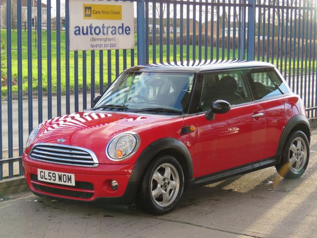 USED 2010 59 MINI HATCH COOPER 1.6 COOPER D 3dr Air con Alloys £20 Tax & Great Fuel Economy