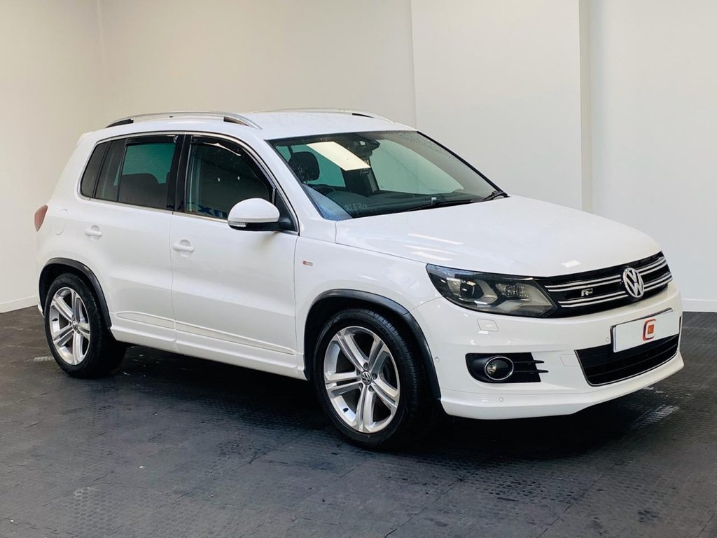 USED 2013 62 VOLKSWAGEN TIGUAN 2.0 R LINE TDI 4MOTION 5d 168 BHP ONLY 46,000 MILES + FSH + 2 KEYS + PRIVACY GLASS + FINANCE AVAILABLE