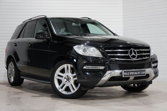 2013 B MERCEDES-BENZ M-CLASS 2.1 ML250 BLUETEC SE 5d 204 BHP (COMAND SAT NAV)