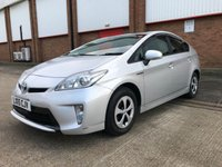 2015 TOYOTA PRIUS 1.8 HYBRID VVTI T4 AUTO 5 SEATS £11900.00