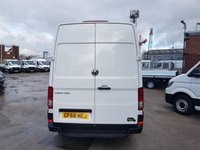 USED 2018 68 VOLKSWAGEN CRAFTER 2.0 CR35 TDI NEW MODEL 140 BHP EURO 6 LOW MLS  NEW SHAPE CRAFTER 140 BHP EURO 6 F.S.H SPARE KEYS
