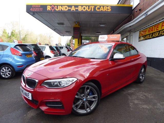 USED 2015 15 BMW M2 3.0 M235I 2d 322 BHP 8 SPEED AUTO GEARBOX.. 2 KEYS