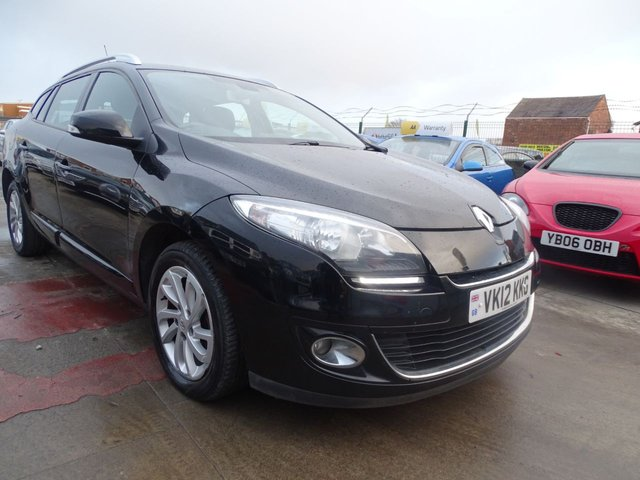 USED 2012 12 RENAULT MEGANE 1.5 DYNAMIQUE TOMTOM DCI 5d 110 BHP CLEAN
