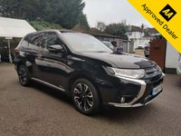 2016 MITSUBISHI OUTLANDER 2.0 PHEV GX 3H PLUS 5d 161 BHP IN METALLIC BLACK WITH ONLY 30500 MILES, FULL SERVICE HISTORY, 1 OWNER AND A GREAT SPEC. THIS IS A ULEZ COMPLIANT VEHICLE £15999.00
