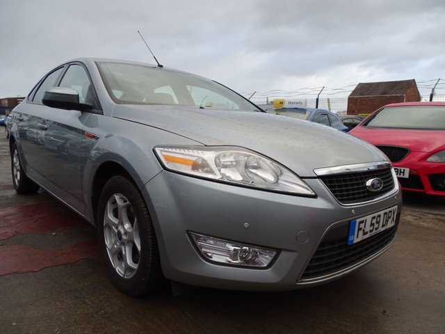 USED 2009 59 FORD MONDEO 2.0 ZETEC TDCI 5d 140 BHP DRIVES VERY WELL