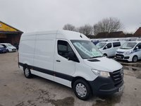 USED 2018 68 MERCEDES-BENZ SPRINTER 314 CDI 140 BHP M.W.B REAR WHEEL DRIVE N/MODEL OVER 100 MORE NEW & USED VANS ON SITE