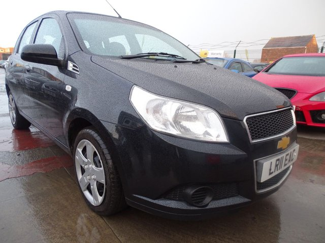 USED 2011 11 CHEVROLET AVEO 1.2 LS 5d 83 BHP CHEAP INSURANCE AND TAX