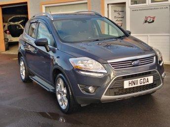 2011 FORD KUGA 2.0 TITANIUM TDCI AWD 5d 163 BHP £6999.00