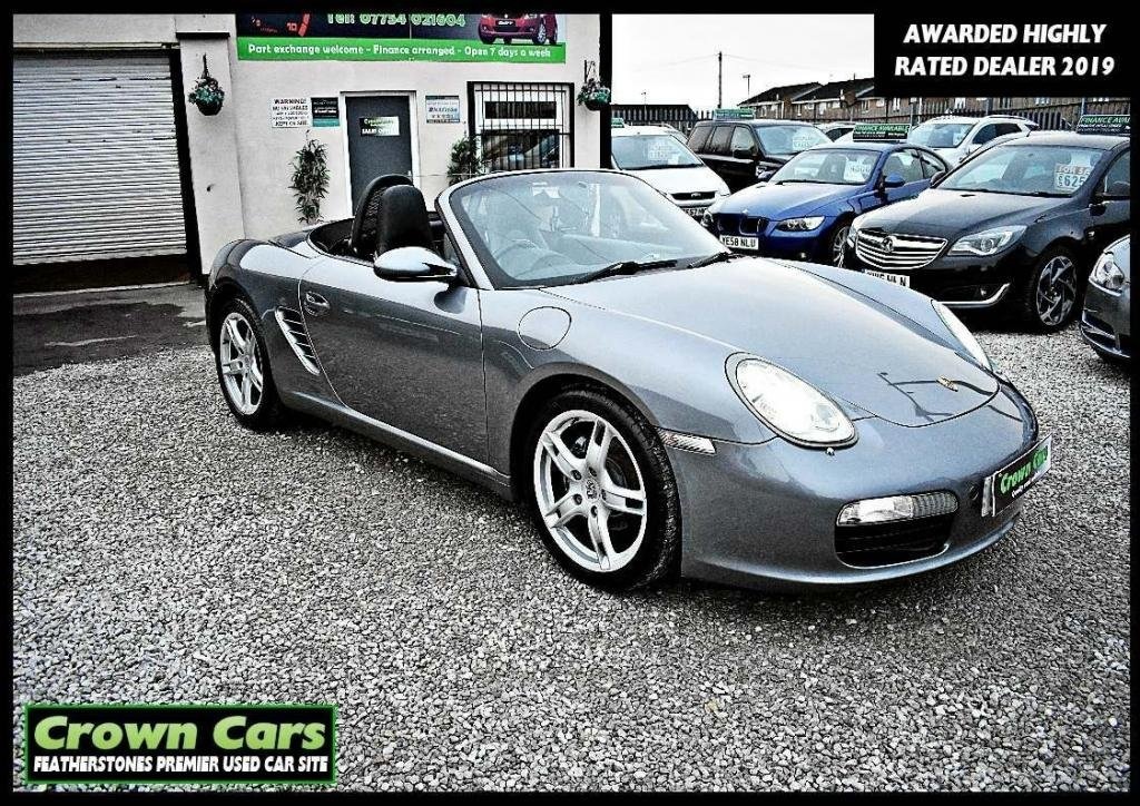 USED 2005 05 PORSCHE BOXSTER 2.7 987 2dr RESERVE TODAY VIEW LATER