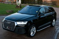 USED 2016 16 AUDI Q7 3.0 TDI V6 S line Tiptronic quattro (s/s) 5dr PAN ROOF+HEAD UP DISPLAY