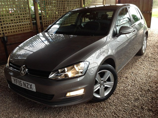 2015 15 VOLKSWAGEN GOLF 1.6 MATCH TDI BLUEMOTION TECHNOLOGY 5d 103 BHP