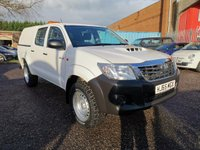 2015 TOYOTA HI-LUX 2.5 D-4D ACTIVE 4x4 Double Cab Pickup 144 *ONE OWNER* £11500.00