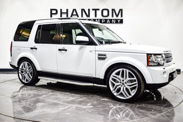 USED 2013 13 LAND ROVER DISCOVERY 3.0 SDV6 HSE LUXURY 5d 255 BHP