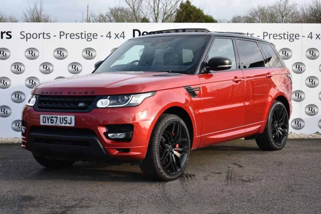 USED 2017 67 LAND ROVER RANGE ROVER SPORT 3.0 SDV6 AUTOBIOGRAPHY DYNAMIC 5d 306 BHP STEALTH PACK