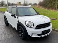 USED 2015 65 MINI COUNTRYMAN 1.6 COOPER D ALL4 BUSINESS 5d 112 BHP SAT NAV, BLACK ALLOYS, ALL4