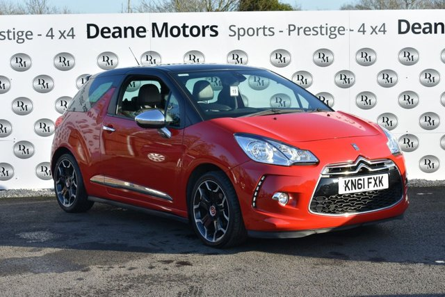 2012 61 CITROEN DS3 1.6 E-HDI AIRDREAM DSPORT PLUS 3d 111 BHP