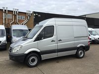 USED 2008 08 MERCEDES-BENZ SPRINTER 2.1 315CDI SWB HIGH ROOF 150BHP SILVER. VERY RARE SIZE VAN. PX 150BHP. SILVER. SWB HIGH ROOF. PX WELCOME.