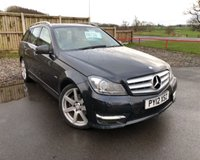 2012 MERCEDES-BENZ C-CLASS 2.1 C220 CDI BLUEEFFICIENCY SPORT 5d 168 BHP £8750.00