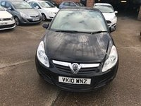 USED 2010 10 VAUXHALL CORSA 1.2 EXCLUSIV A/C 5d 83 BHP