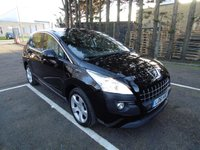USED 2011 61 PEUGEOT 3008 1.6 ACTIVE E-HDI FAP 5d AUTO 112 BHP * 1 KEEPER FROM NEW * FULL SERVICE HISTORY * 5 SERVICES * 2 KEYS *