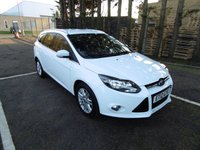 USED 2012 12 FORD FOCUS 1.6 TITANIUM TDCI 115 5d 114 BHP * 1 KEEPER FROM NEW * FULL SERVICE HISTORY WITH 7 STAMPS * £20 ROAD TAX *