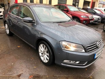 2014 VOLKSWAGEN PASSAT 2.0TDI (140ps) Executive BlueMotion Tech Saloon 4d 1968cc DSG £7995.00