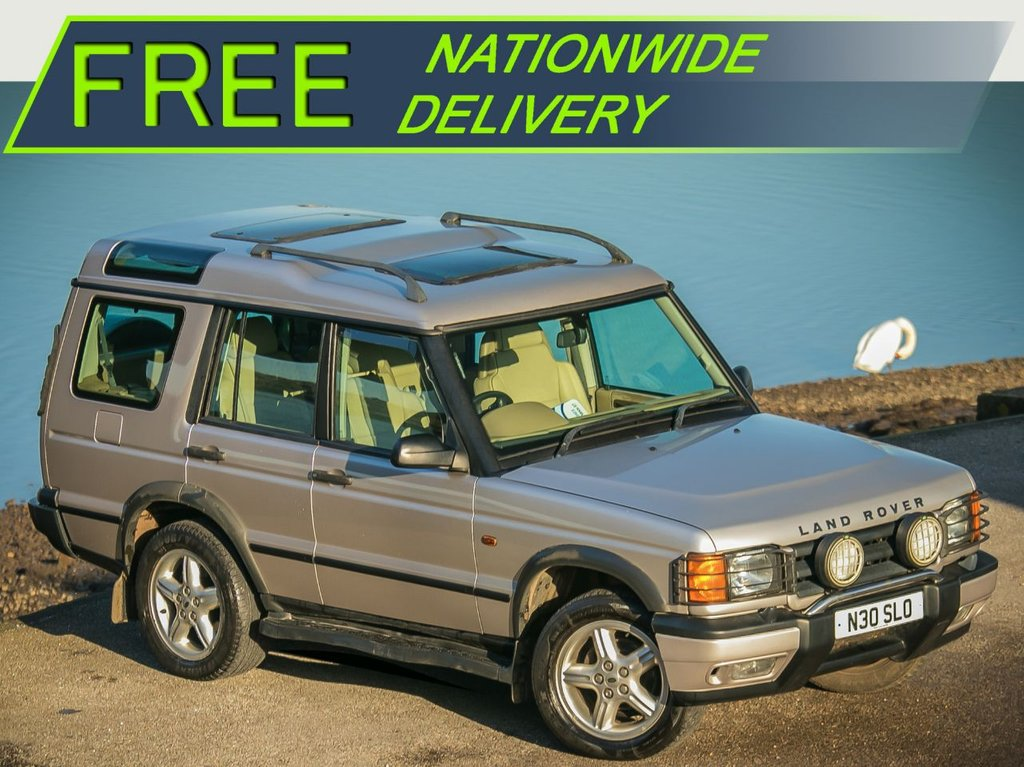 USED 2001 N LAND ROVER DISCOVERY 2.5 TD5 ES [7 SEATER] 5dr CHEAP 4X4 AUTOMATIC WORK HORSE with 7 FULL LEATER SETS and AUTOMATIC GEARBOX