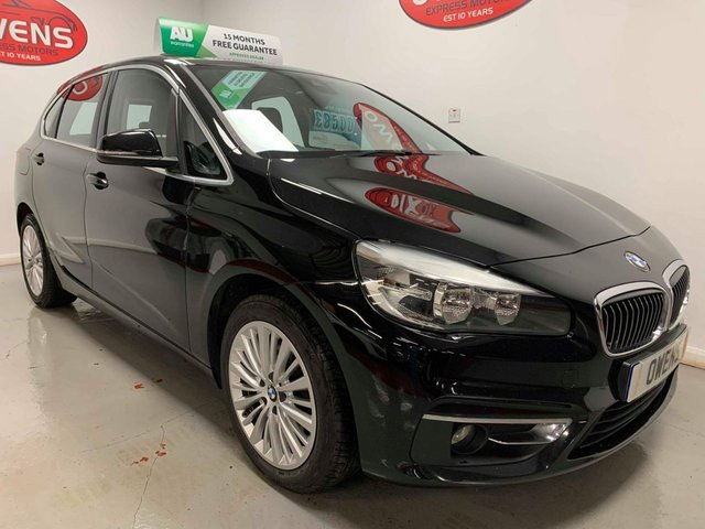 2015 65 BMW 2 SERIES 2.0 218D LUXURY ACTIVE TOURER 5d 148 BHP