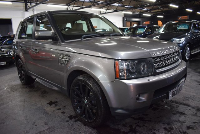 USED 2011 11 LAND ROVER RANGE ROVER SPORT 3.0 TDV6 HSE 5d 245 BHP LOVELY CONDITION THROUGHOUT - £8K FACTORY OPTIONS - LEATHER - NAV - EXTENDED LEATHER DASH - TV - HEATED STEERING WHEEL