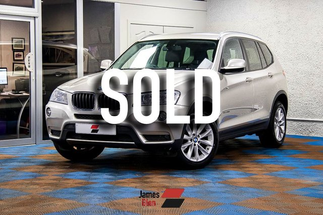 USED 2014 14 BMW X3 2.0 XDRIVE20D SE 5d 181 BHP Full BMW Dealer Service History - 3 Stamps