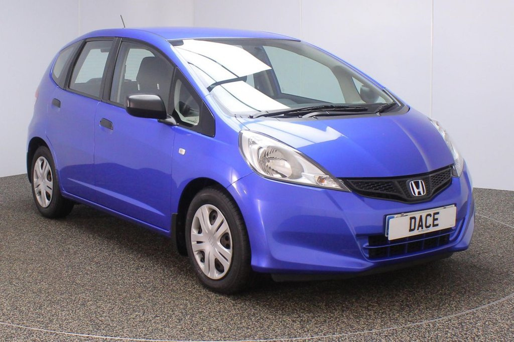 USED 2013 13 HONDA JAZZ 1.2 I-VTEC S AC 5DR 1 OWNER 89 BHP FULL SERVICE HISTORY + MULTI FUNCTION WHEEL + AIR CONDITIONING + RADIO/CD/MP3 + AUXILIARY PORT + ELECTRIC WINDOWS + ELECTRIC/HEATED DOOR MIRRORS